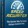 Speed Rewriter Software Review – 100% Honest Review and Huge Bonuses