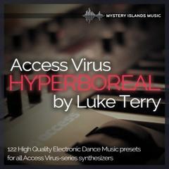 Luke Terry - Hyperboreal Access Virus Soundset Demo
