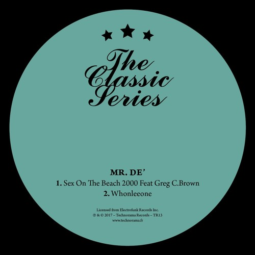 Mr.De' - Sex On The Beach 2000 / Whonleeone [TR13] snippets