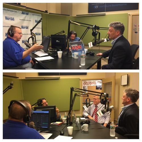 Jeff Clements & John Pudner joins Herald Drive on Boston Herald Radio