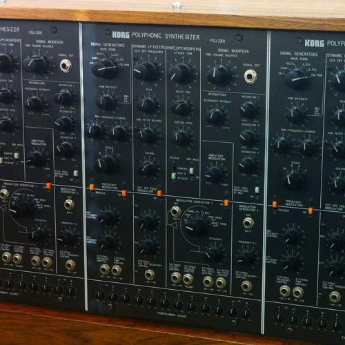 1978 KORG PS-3300: Horns