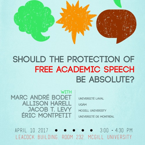 Round Table - Should the Protection of Free Academic Speech Be Absolute
