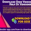 Download ozee videos with the help of Videoder app