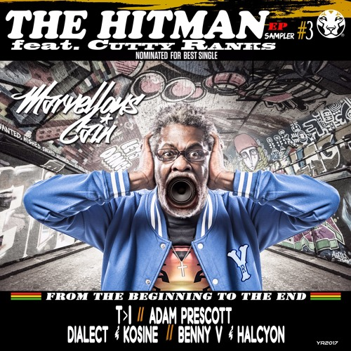 A- Marvellous Cain Feat Cutty Ranks - The HitMan -  T >I Remix - Sampler #3