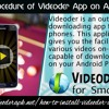Download procedure of Videoder app on Android Phones.mp3