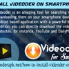 How to Install Videoder on smartphone devices.mp3