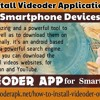 How To Install Videoder Application on your Smartphone Devices.mp3