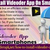 How to install Videoder app on smart phones?.mp3