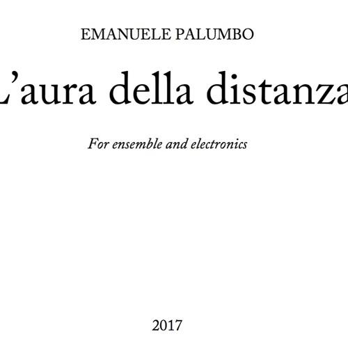 L'aura della distanza