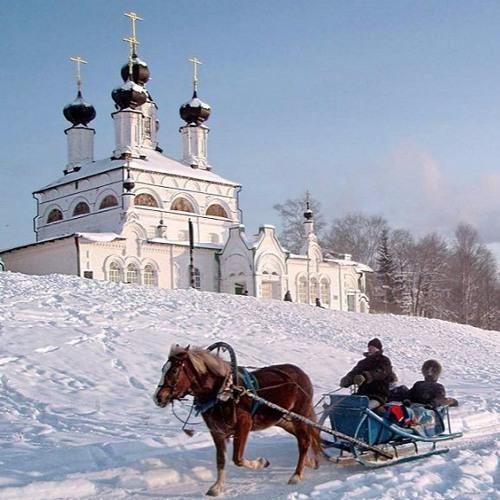 「ロシアの声」アーカイブから人気番組:これがロシア! ロシア版サンタクロースの故郷 ヴェリキイ・ウスチューグ