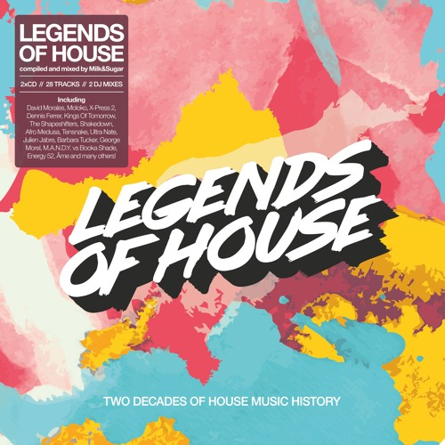 MILK & SUGAR - LEGENDS OF HOUSE (Minimix) - Two Decades Of House Music History