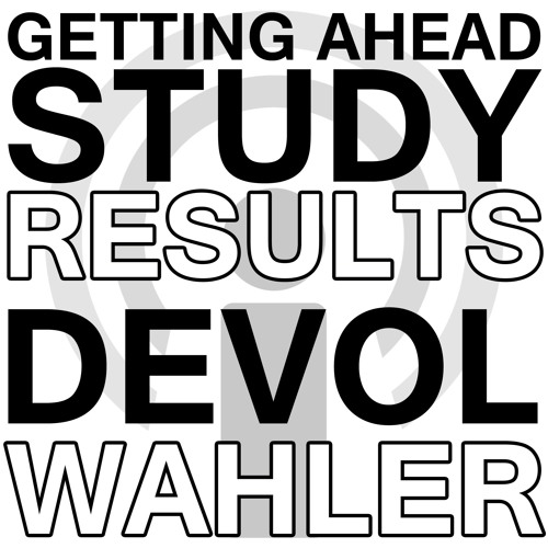 Getting Ahead Study Results - Phil DeVol and Beth Wahler Webinar Podcast