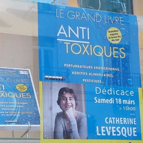 RFL101 Le RDV Littéraire Catherine Levesque Grand Livre Anti Toxiques