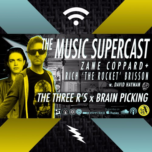 014 • THE 3 R's & SOME BRAIN-PICKING w. ZANE & THE ROCKET