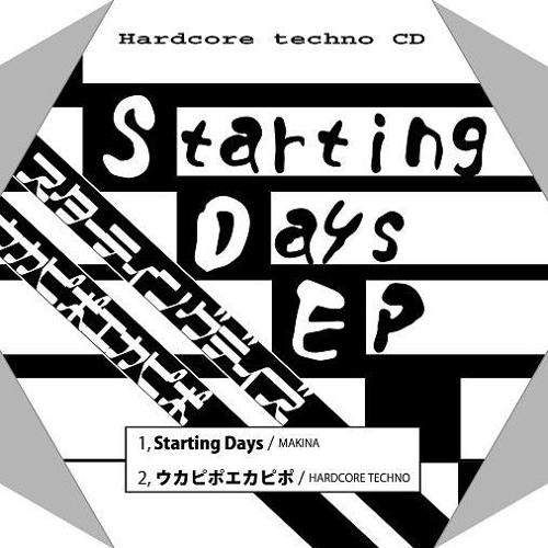 【2017年春 M3新譜】Starting Days EP・クロスフェードデモ【オリジナル曲】