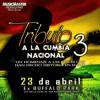 Tributo a la Cumbia Nacional 3 (2017).mp3 Portada del disco