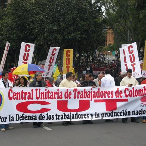 Invitación de CUT Colombia para marchar este 1 de mayo