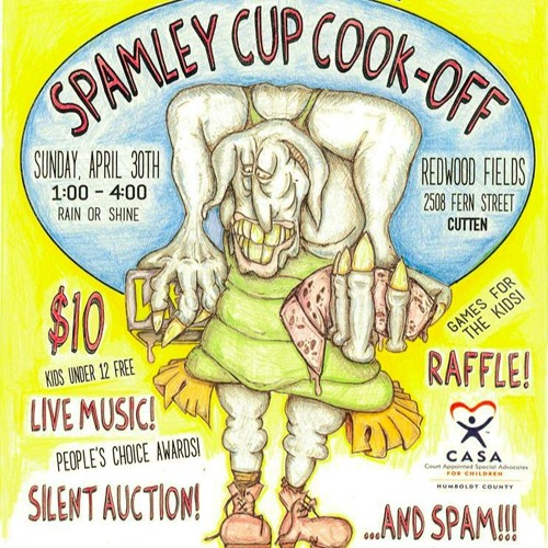 Spamley Cup Cook-Off to Benefit CASA of Humboldt