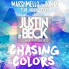 Marshmello X Ookay - Chasing Colors Feat. Noah Cyrus (#JustinBeck Bootleg Trapped Remix )
