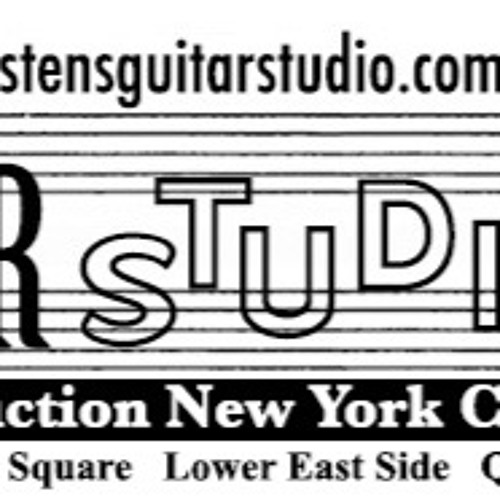 Sten's Guitar Studio New York City Educational Audio Recordings 2015-17