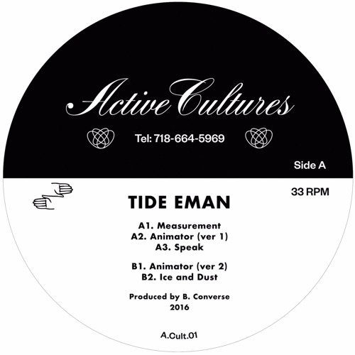 Tide Eman - Animate Objects EP (A.Cult.01)