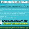 Download Vidmate Music Downloader App