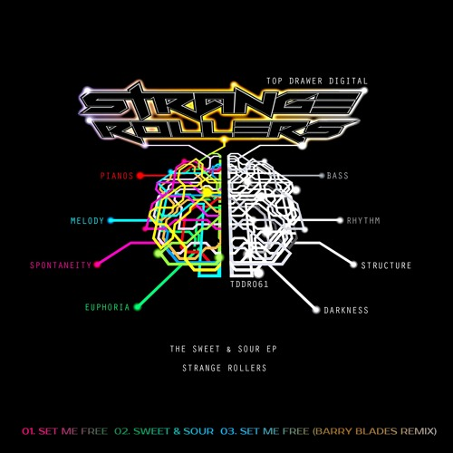 Stange Rollers - Set Me Free - The Sweet & Sour EP - TDDR061 - Top Drawer Digital