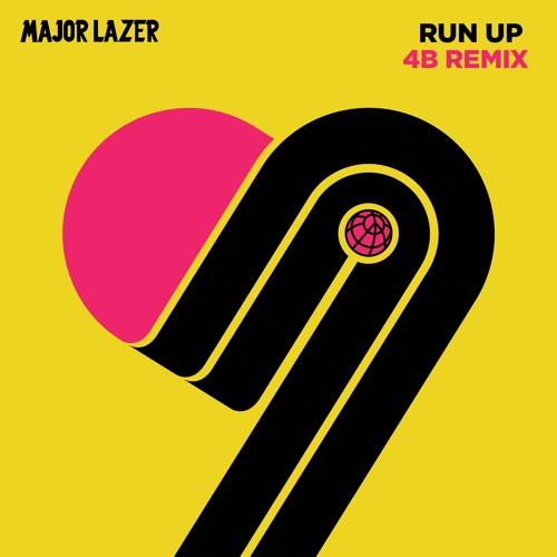 MAJOR LAZER - RUN UP (4B x rocky wellstack REMIX)