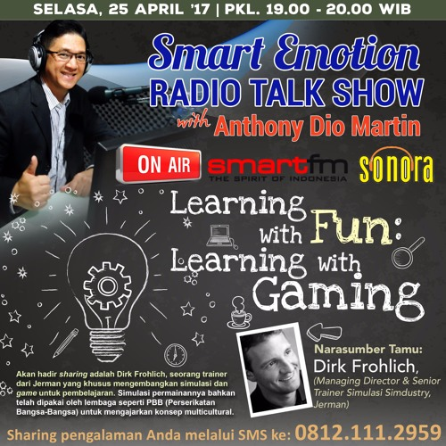 """Smart Emotion 25 April 2017 """"Learning with FUN: Learning with GAMING"""""""