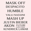 Despacito / Humble / Mask Off (Kendrick Lamar, Justin Bieber, Future, Luis Fons, Akon MASH UP)