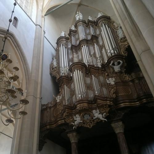 Sneak Preview van m'n nieuwe CD: Fuga BWV 537 J.S. Bach   Bovenkerk, Kampen