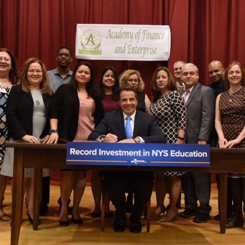 Governor Cuomo Signs Legislation Investing Record $25.8 Billion in Education Across NYS