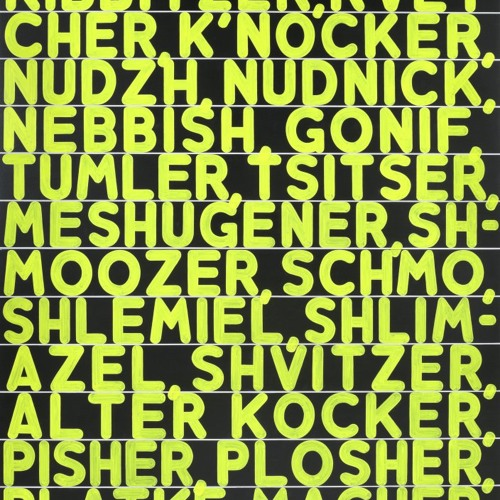 Mel Bochner: Strong Language