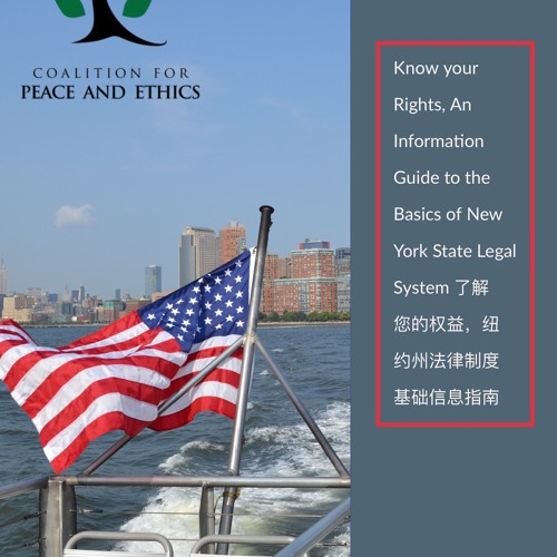 Know your Rights, An Information Guide   了解您的权益,纽约州法律制度基础信息指南
