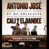 Antonio José Ft. Cali Y El Dandee - Tu Me Obligaste (Mula Deejay Edit) COPYRIGHT Portada del disco
