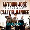 Antonio Jose ft. Cali y El Dandee - Tu me obligaste (Bruno Torres Remix) Portada del disco
