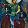 Chagall Reworking His Paintings