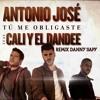 Tu me obligastes-Antonio José Cali Y El Dandee REMIX DannySapy Portada del disco