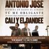 Antonio José Ft Cali Y El Dandee - Tu Me Obligaste (Dj Alex Córdoba & CrisGarcia Rumbaton 2017) Portada del disco