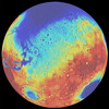 NASA-funded Research Reveals Lull in the Formation Time of Mega Basins on Mars