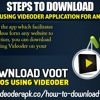 Steps To Download Voot Videos Using Videoder Appli