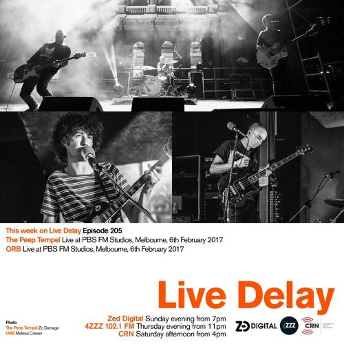 Live Delay - Ep 205 - The Peep Tempel; ORB