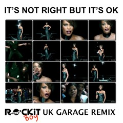 Whitney Houston - Its Not Right But Its OK - UKG REMIX - DOWNLOAD LINK IN DESCRIPTION