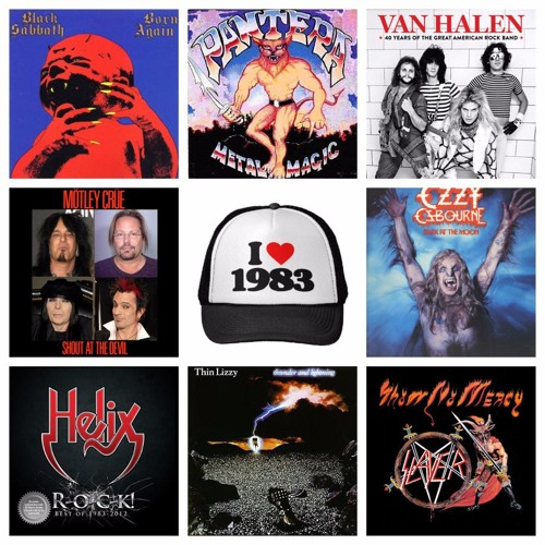 Ep 75:  1983 - The Greatest Year In Rock History