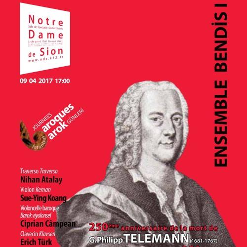 Ensemble Bendis -09 04 2017- Haendel  : Sonate en trio op.2 No.1