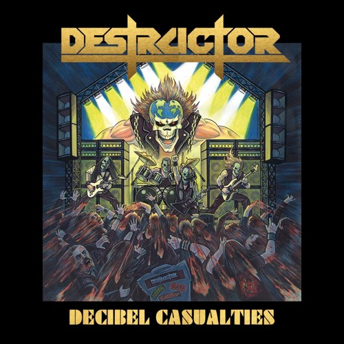 DESTRUCTOR - Metal Spike Deep (PURE STEEL RECORDS)