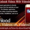 Download Facebook Videos With Videoder Application