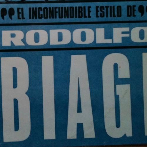 Rodolfo Biagi  V.Jorge Ortiz