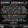 Grime Originals New Generation Set 1 - 7th May '17 - Row D, Black Steve, Reece West & more