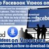 Download Facebook Video